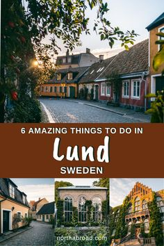 Here's how to spend a day in the charming university city of Lund in Scania, Sweden including the best things to do, when to visit, how to get there, where to stay and our tips for visiting Lund. #lund #sweden #europe #city #travel