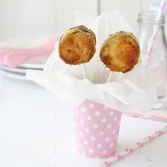 Piruletas de calabacin / Zucchini lollipops