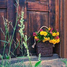 Koš na dveře