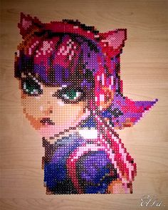Annie - League of Legends perler  beads by HanaMidorikawa
