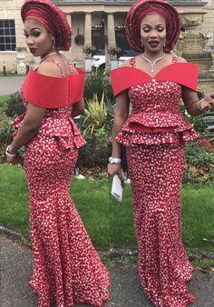 African Women Asoebi style - Ufumbuzi - Home Best African Dresses, African Lace Styles, African Traditional Dresses, Latest African Fashion Dresses, African Print Dresses, African Print Fashion, African Attire, African Style, Africa Fashion