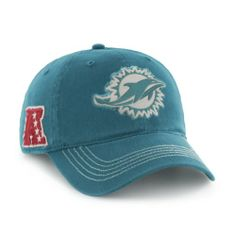 9ccc52753e3 NFL Miami Dolphins Badger Garment Washed Flex Hat by  47 Brand  47 Brand