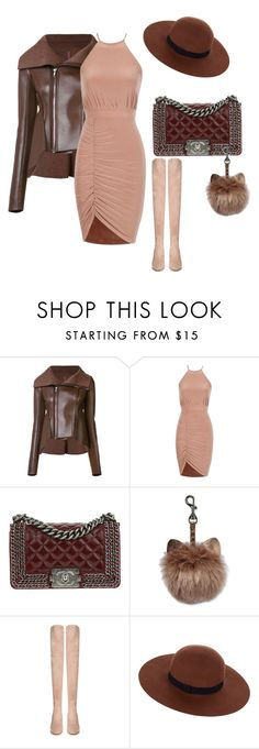 """""""Untitled #562"""" by irinairina745 on Polyvore featuring Rick Owens Lilies, Chanel, Valentino and Accessorize"""