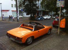 Orange to Orange, trash to trash. Porsche 914.
