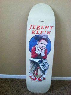 079a08c046 Jeremy Klein World Industries Vintage skateboard. Nathan Hugon · Skateboards