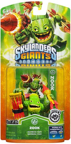 #ToysRus                  #Toys #Action Figures     #skylander #zook #lif #powers #portal #skylanders #individual #character #own #giants #unique #life #ultimate #collection #game #pack #power                Skylanders Giants Individual Character Pack - Zook 2                          Bring the Skylanders to Life! Bring the Skylanders to life by placing them on the Portal of Power. Build the ultimate collection of Skylanders - over 45 Skylanders to collect! Each Skylander has their own…