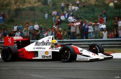 Ayrton Senna, #McLaren Honda. Spa - Francorchamps 1990.