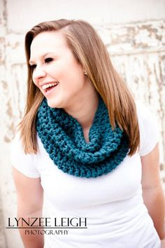 Crochet Cowl Neck Scarf by Dugan's Girls  https://www.facebook.com/pages/Dugans-Girls/147396202020393  #DugansGirls