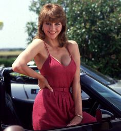 Pam Ewing/Dallas - love the jumpsuit too