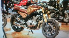 Suzuki Gs 500 - Scrambler Would ride mine way more if it looked like this...