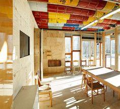 EL MUNDO DEL RECICLAJE: Casa hecha de material reciclado
