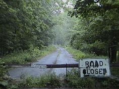 """Helltown, Ohio (formally """"Boston, Ohio"""") - was a small village south of Cleveland until December 27, 1974, when Gerald Ford signed a bill that turned it into a ghost town. Since then, it has been the subject of more than a few urban legends."""