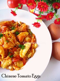 The arab origins of a classic chinese home cooked dish tomato eggs a quick and easy chinese recipe tomato eggs recipe forumfinder Gallery