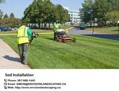 If you need #sod #installation in Edmonton, We are also engaged in Sod installations in Edmonton which help the erosion of topsoil and prevent the water-related issues. https://bit.ly/2IwmVhR