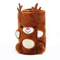 Koc Świąteczny z elementami Deer Jelonek 80x100 cm Burlap, Merry Christmas, Reusable Tote Bags, Merry Little Christmas, Hessian Fabric, Merry Christmas Love, Wish You Merry Christmas, Jute