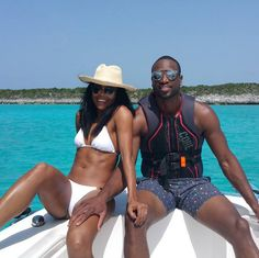 Pin for Later: Celebrity Summer Vacations That Are Sure to Make You Jealous Gabrielle Union Gabrielle and her husband, Dwyane Wade, took a sunny trip to the Caribbean in July.