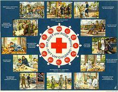 Na de Tweede Wereldoorlog groeide het Rode Kruis enorm. Het aantal afdelingen verdubbelde, het ledental vertienvoudigde naar bijna 1 miljoen in de jaren 60. Aan de groei werd ook bijgedragen door publiekscampagnes, waarvoor eigentijds campagnemateriaal werd ontwikkeld, zoals de folder met een 'klok' van geefvoorbeelden in guldens.