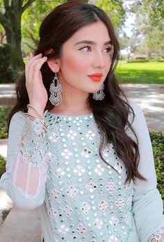 Stylish Dress Designs, Designs For Dresses, Stylish Dresses, Dresses For Work, Dress Casual, Fashion Dresses, Mirror Work Dress, Mirror Work Blouse Design, Pakistani Fashion Party Wear