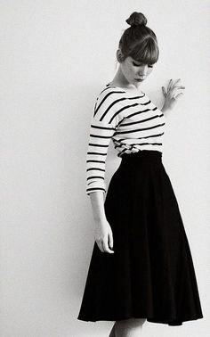 stripes+skirt