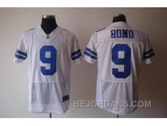 http://www.bejordans.com/free-shipping-60-off-nike-nfl-dallas-cowboys-9-romo-grey-whiteelite.html FREE SHIPPING ! 60% OFF! NIKE NFL DALLAS COWBOYS #9 ROMO GREY WHITE[ELITE] Only $20.00 , Free Shipping!