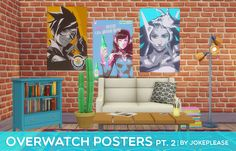 overwatch posters pt. 2 here it is, round two of the overwatch posters! these…