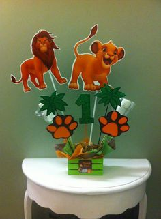 Lion king Jungle Theme Birthday, Lion King Birthday, 1st Boy Birthday, First Birthday Parties, Birthday Ideas, Lion King Theme, Lion King Party, Lion King Baby Shower, Lion King Cakes