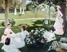 Jacques-Emile Blanche (1861-1942) - La Partie de tennis