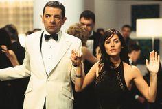 Still of Rowan Atkinson and Natalie Imbruglia in Johnny English