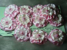 Beaded YOYO Flowers by Joanah V Designs, via Flickr