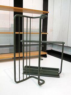 Moser Werner Max 1932 Coat hanger and umbrella holder Embru (col.
