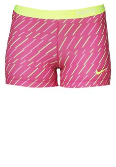 "Nike Performance - PRO BOLT 3"" - Korte broeken - hot pink/liquid lime/volt"