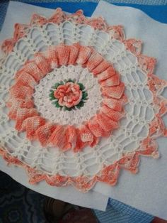 Ok here is the deal, I'm going to try to make this Doily and tell you  how to.. Not to sure if I can accomplish it. But...
