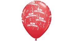 Piros boldog születésnapot lufi, Nicol Party Kellék Bolt Music Instruments, Musical Instruments