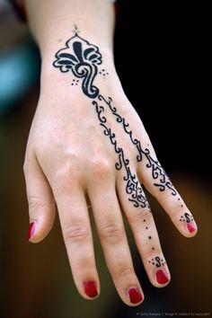 Image Detail for - Henna tattoo, Hammamet, Tunisia.