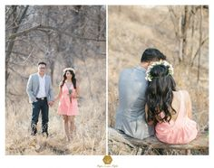 ethereal engagement, floral headpiece, kansas city wedding photographer and destination wedding photographers, style me pretty, beach engagement, engagement photos, engagement poses