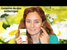 Contorno de ojos ANTIARRUGAS, ANTI BOLSAS y ANTI OJERAS. Anti-wrinkle eye cream Pilar Nature - YouTube