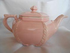 Beautiful Hall USA Pink Disraeli Teapot Perfect by libbysfabric, $49.95