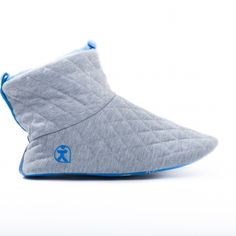 1b5bb9d2f1d9dc The Bedroom Athletics Spring Summer Collection buy the Mens handsome Otis -  Quilted Slipper Boots - Grey Blue www.bedroomathletics.com