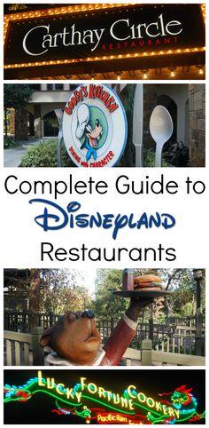disneyland restaurant reviews