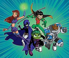 Teen Titans Go!!!! This was my favorite show as a kid!