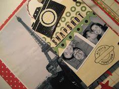 Manualidades y tendencias: Scrapbooking: mini-álbum AMOR www.manualidadesytendencias.blogspot.com