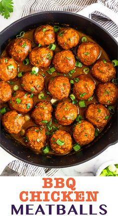 Instant Pot BBQ Chicken Meatballs Instant Pot BBQ Chicken Meatballs made with only 3 ingredients – ground chicken, BBQ sauce, and coconut flour! These chicken meatballs make a super easy, healthy, and. Ground Chicken Recipes Easy, Chicken Meatball Recipes, Bbq Chicken, Healthy Chicken Recipes, Meatball Appetizers, Chicken Balls, Paleo Recipes, Crockpot Recipes, Yummy Recipes