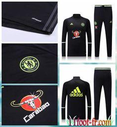 Survetement De Foot Chelsea FC Homme 2016 17 Noir