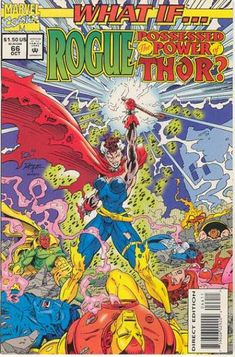 What If? 66 - Marvel Comics - Rogue - Thor - Possessed The Power - Conqueror