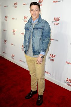 Colton Haynes outfits