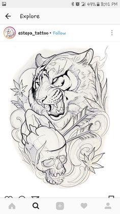 Tiger paw c jjgguoiugo BIẾT lagjolbw animal Tattoo Sketches, Tattoo Drawings, Body Art Tattoos, Art Sketches, Sleeve Tattoos, Tattoo Ink, Arm Tattoo, Hand Tattoos, Small Tattoos