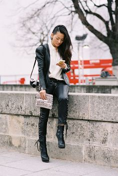 Edgy / Stylist Tina Leung / Paris Fashion Week AW 2013 / Vanessa Jackman