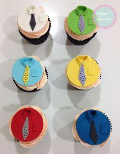cupcake decorados con fondant para hombres - Buscar con Google