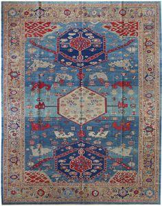 gorgeous bakshaish oriental rug for living room Modern Carpet, Modern Rugs, Gray Carpet, Persian Carpet, Persian Rug, Textiles, Tribal Rug, Room Rugs, Rugs On Carpet