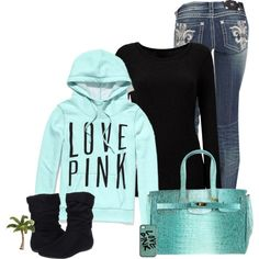 """Love Pink"" by cindycook10 on Polyvore"
